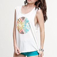 RVCA Geo Circle Muscle Tee at PacSun.com