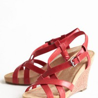 simply striking strappy wedges at ShopRuche.com