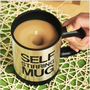 jullygo  [Grd03063]Novelty Self Stirring Mug Cup