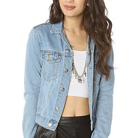 Cheap Monday The Tess Denim Jacket in Light Trash : Karmaloop.com - Global Concrete Culture