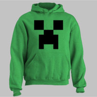 Mind craft hoody sweatshirt jumper pullover unisex  by MEGAFashion