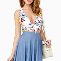 Winona Floral Halter Top