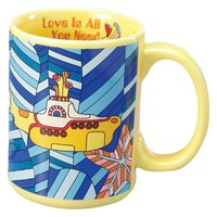 Vandor 14-Ounce Mug, The Beatles Yellow Submarine