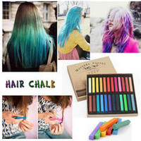 12 Colors Temporary Hair Chalk Dye Soft Pastels Salon Kit [5029]