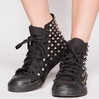 Studded Hi Sneakers [Bil8671] - $98.00 : Pixie Market, Fashion-Super-Market