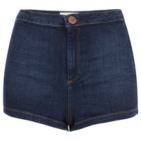MOTO High Waist 50s Hotpants - Top Rated - Collections - Topshop USA