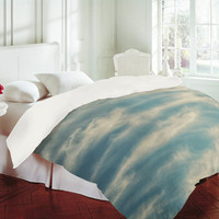 DENY Designs Home Accessories | Shannon Clark Peaceful Skies Duvet Cover