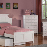 Maddie Twin Size Panel Bed