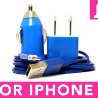 Blue iPhone 5 Charger