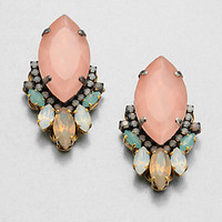Erickson Beamon - Swarovski Crystal Cluster Earrings
