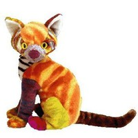 Amazon.com: TY Beanie Baby - KALEIDOSCOPE the Cat [Toy]: Toys & Games