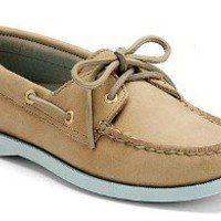 Sperry Top-Sider Women&#x27;s Cloud Logo Authentic Original 2-Eye Color Pop Boat Shoe