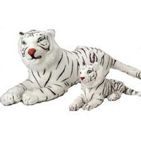 Amazon.com: Realistic White Tiger: Toys & Games