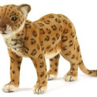 Amazon.com: Hansa Anatolian Leopard Stuffed Plush Animal, Standing: Toys & Games