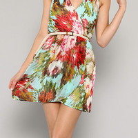 Mint Julep Belted Dress [A13-D550-ML1] - $52.99 : Spotted Moth, Chic and sweet clothing and accessories for women