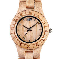 WeWOOD 'Moon' Wood Watch | Nordstrom