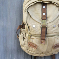 Weathered Cargo Backpack, Women's Rugged Bags, Totes, & Backpacks