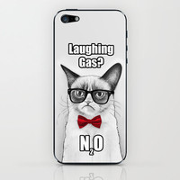Grumpy Chemistry Cat, Tardar Sauce, Tard iPhone & iPod Skin by Olechka