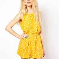 AX Paris | AX Paris Printed Playsuit at ASOS