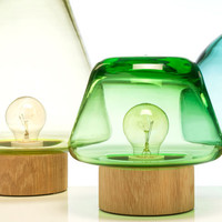Skog Lamps by Caroline Olsson for Magnor Glassverk