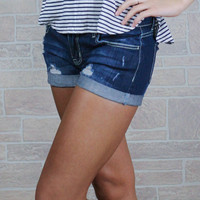 Be My Lookout Denim Shorts
