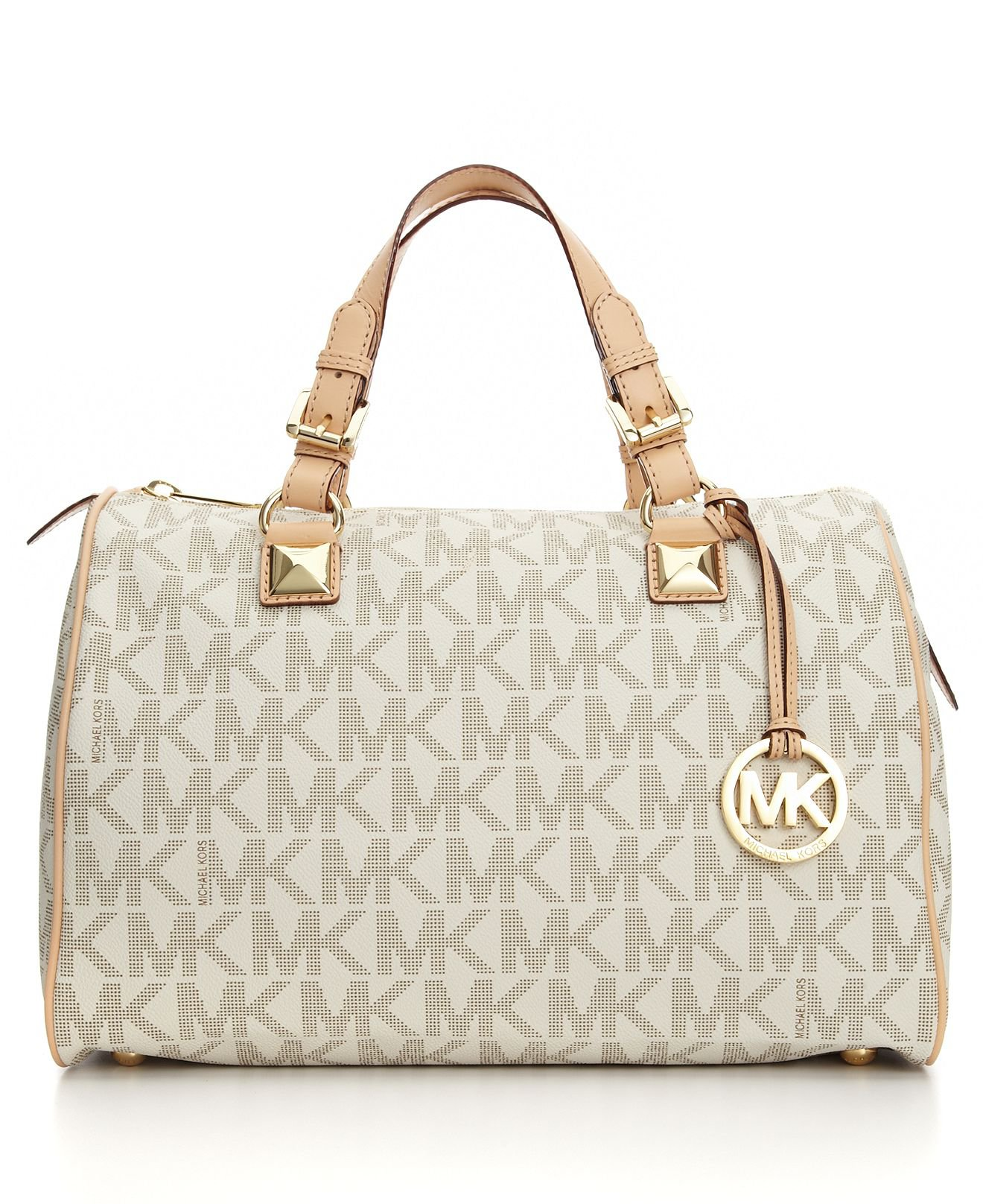 The empire of Michael Kors doesn't just stop with Michael Kors Leather Bags and Michael Kors Studded Bags. Michael Kors Backpacks are popular and desired across the globe. Fitting ever category from cute, edgy, flirty, and so much more. There are only countless backpacks to choose from.