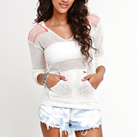 Roxy Sun And Salt Hooded Sweater at PacSun.com