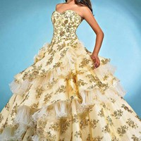 Landa Quinceanera AQ12 at Prom Dress Shop