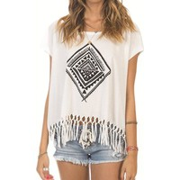 Billabong Let Go Tee - Cool Wip - J9221LET				 |  			Billabong 					US