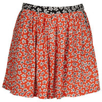 Ditsy Mix Print Culotte Shorts - Shorts  - Clothing