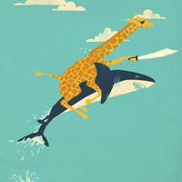 Onward! Stretched Canvas by Jay Fleck | Society6