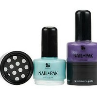 Set of 2 Nail Pak All n 1 Polish Remover & File by Lori Greiner — QVC.com