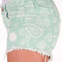 Klique B Paisley Print Stretch Short - Women's Shorts | Buckle