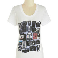 Stop, Drop, and Photo Op Tee | Mod Retro Vintage T-Shirts | ModCloth.com