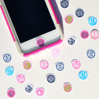 Personalized Custom Monogrammed IPhone by PinkPolkaDotMonogram
