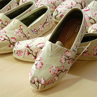 Bridal Party TOMS - shoes included, your design, seven pairs, custom made