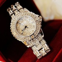 Bling Bling Handmade Diamond-studded Watch For Women from TheFunKiss
