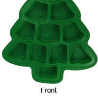 Silicone Christmas Tree Cupcake Mold
