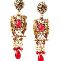 Daya Earrings - INDIAN BAZAAR Daya Earrings