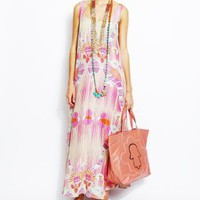 Pink Maxi Dress - TAMBOURINE Pink Maxi Dress