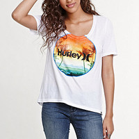 Hurley The Sun Also Sets Scoop Tee at PacSun.com