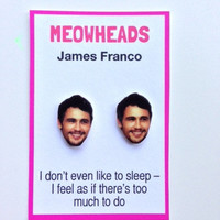 James Franco earrings