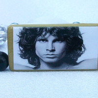 Jim Morrison The Doors Bamboo Tile Bead by thebagladyboutique1
