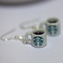 Kawaii Miniature Food Earrings - Starbucks Coffee