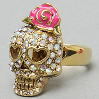 Karmaloop.com - The Vampire Slayer Skull Ring