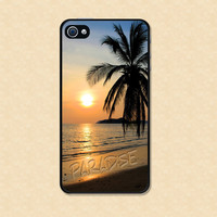 Iphone case Infinity Love Beautiful Sunset Beach Paradise Iphone 4 case cool awesome Iphone 4s case