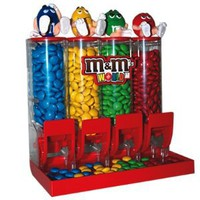 M&M`S World Colorworks Candy Dispenser: Everything Else