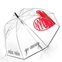 "Felix Rey ""Rain Rain Go Away"" Clear Bubble Umbrell- Bloomingdales.coma"