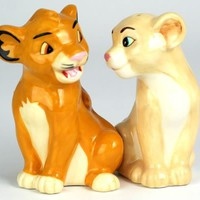 Simba and Nala - Salt & Pepper Shakers