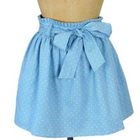 Blue Ribbon Winner Chambray Skirt - $39.99 : Spotted Moth, Chic and sweet clothing and accessories for women